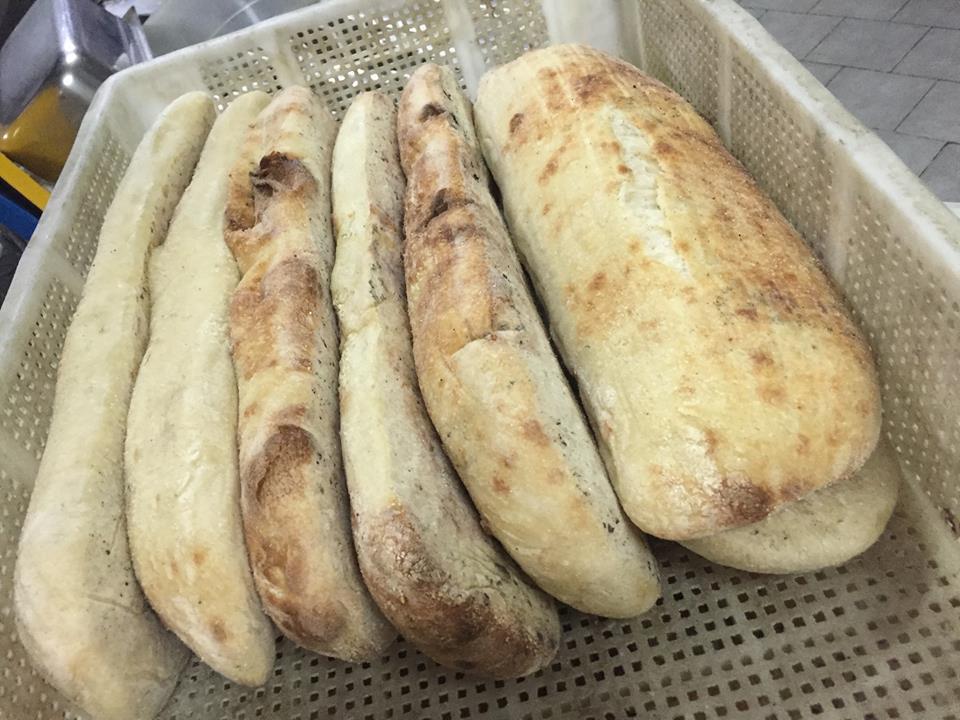 Pizzeria 'O Gemell, il pane