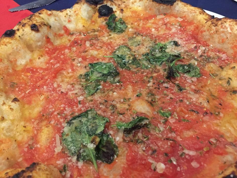 Pizzeria 'O Gemell, la cosacca con parmigiana