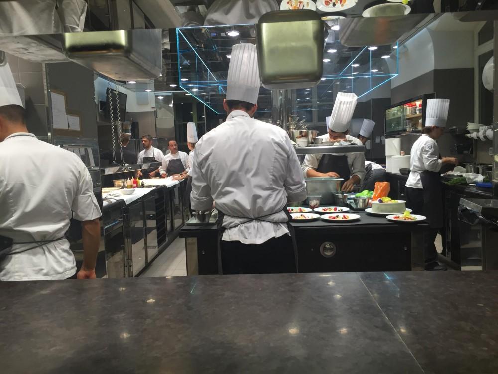 Ristorante Del Cambio a Torino, chef table