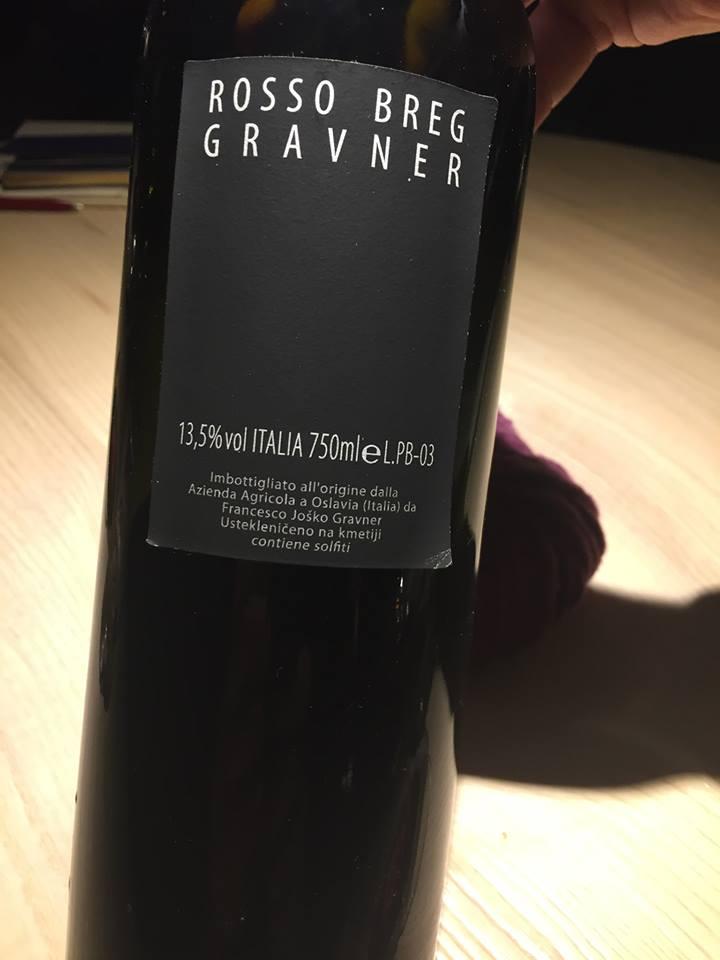 Rosso Gravner 2003