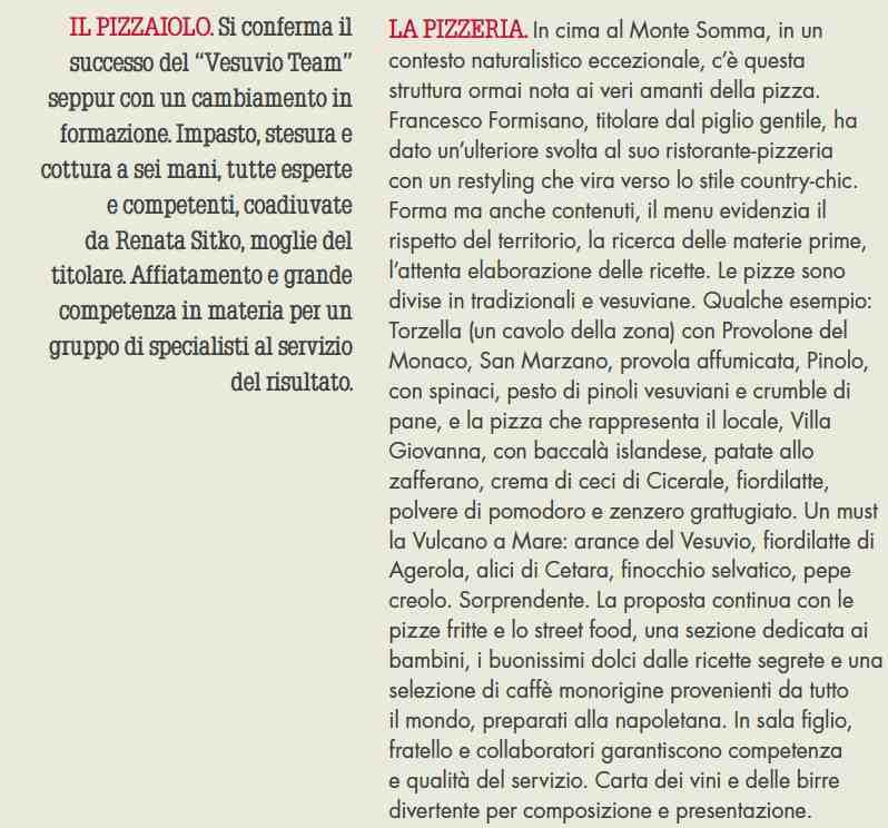 Villa Giovanna Il team