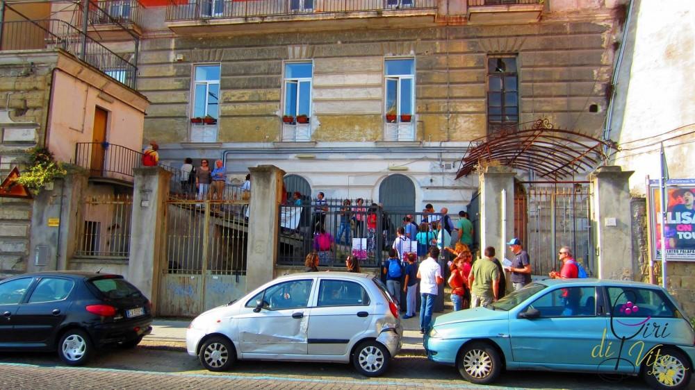 San Martino, l'ingresso da Corso Vittorio Emanuele