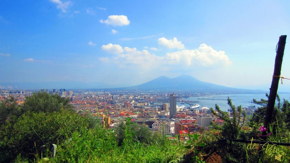 San Martino, il Vesuvio