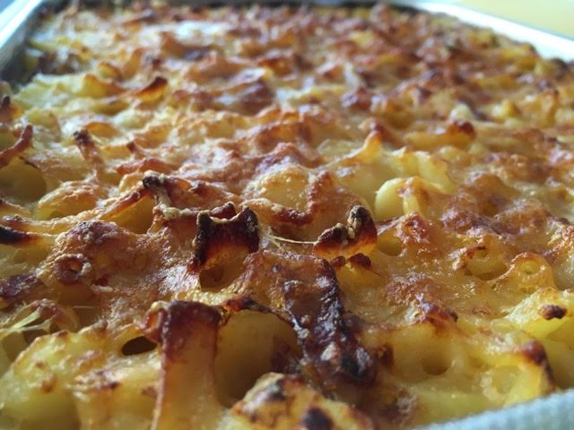Timballo di pasta, patate e provola al forno