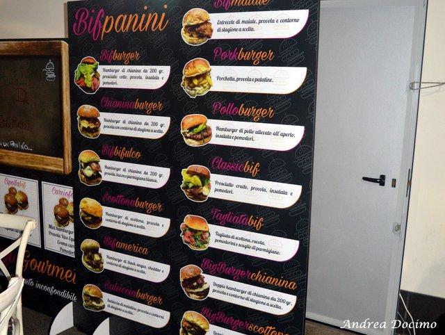 Bifburger by Bifulco a San Giuseppe Vesuviano. L'elenco dei panini