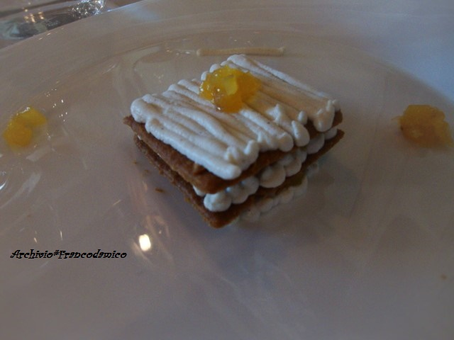 Locanda Mammi' dessert ricotta e rosmarino