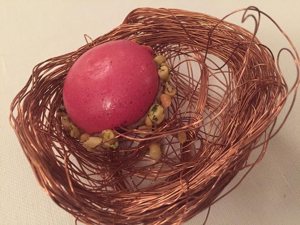 Al Covivio Troiani, aperitivo. Il macaron con foie gras
