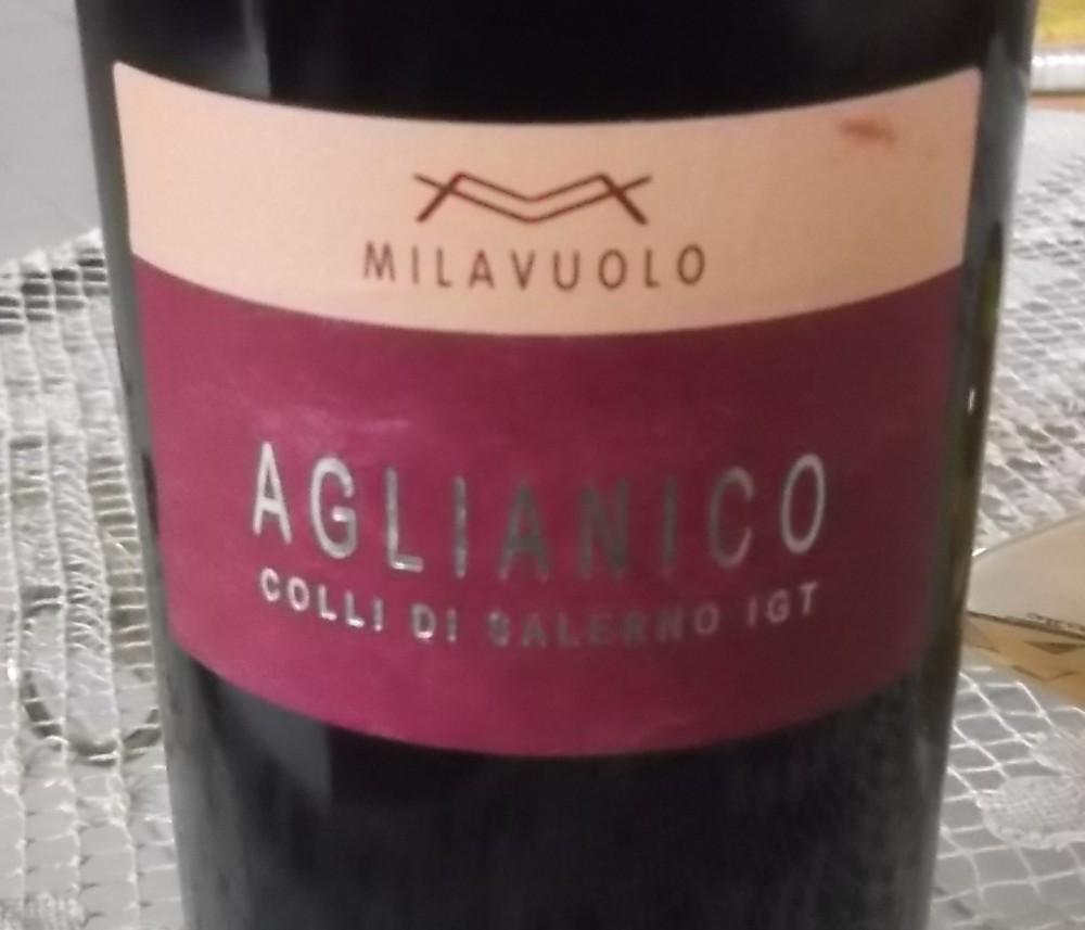 Aglianico Colli di Salerno Igt 2010 Mila Vuolo