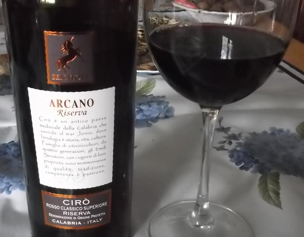 Arcano Ciro' Rosso Classico Superiore Riserva Dop 2009 Senatore Vini