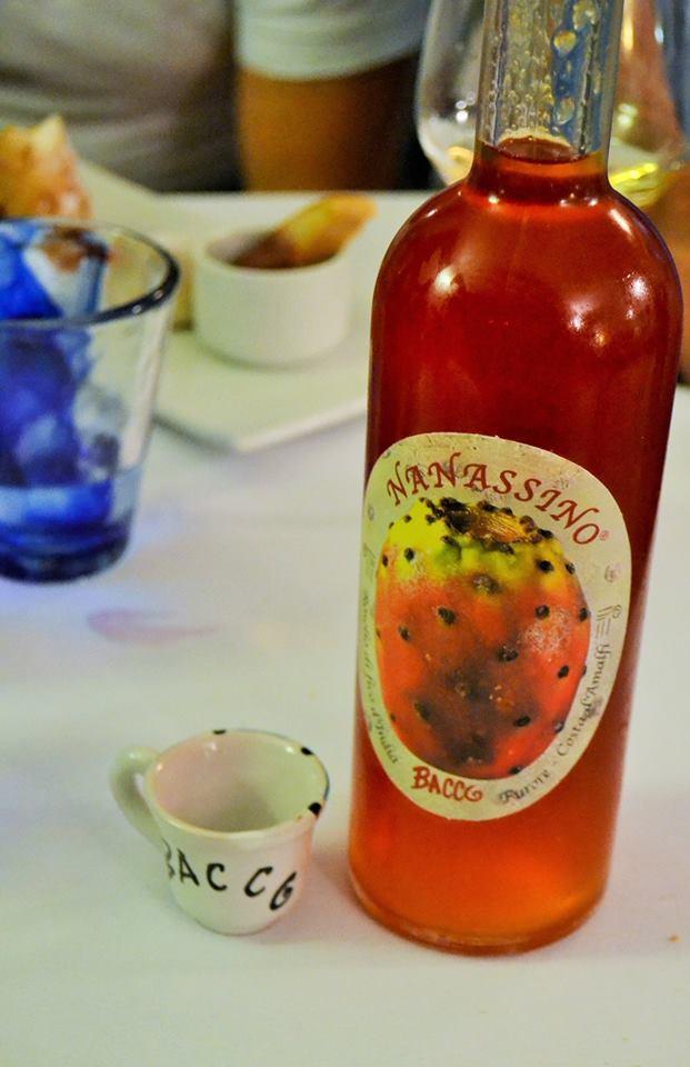 BACCO, Nanassino, liquore ai fichi d'india