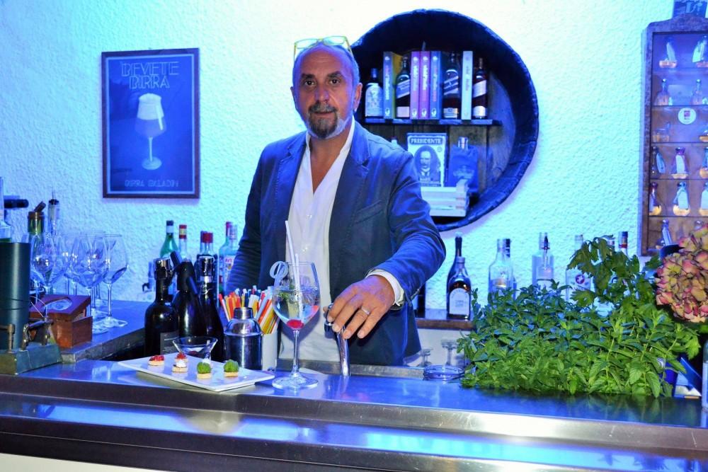 BACCO, Spritz al sedano e il barman Andrea Rispoli