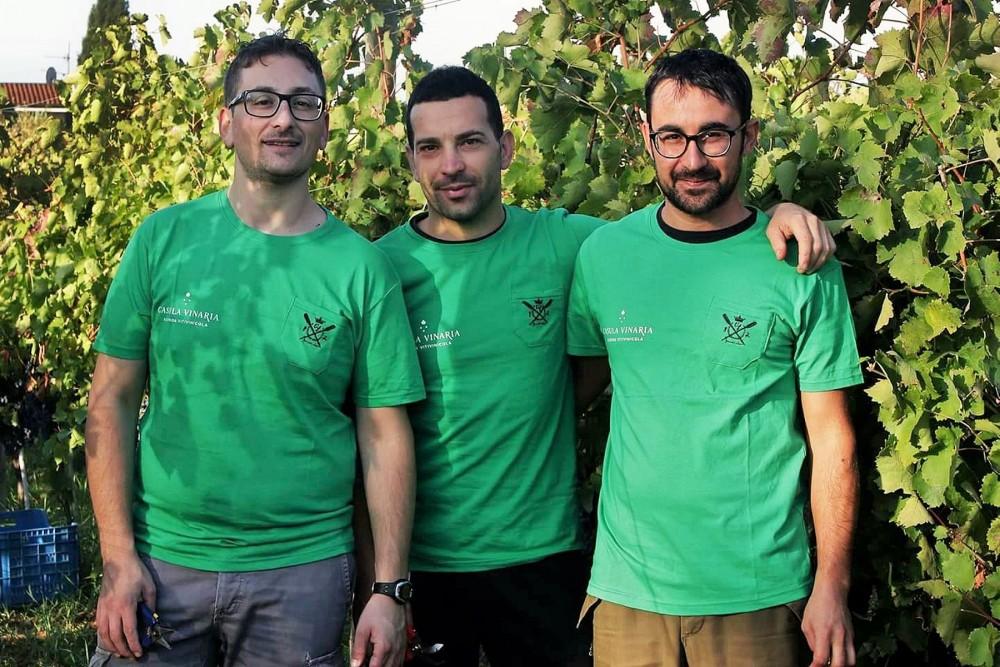 Casula Vinaria Daniele Iuorio, Armando Ruggiero e Fiorello Iuorio