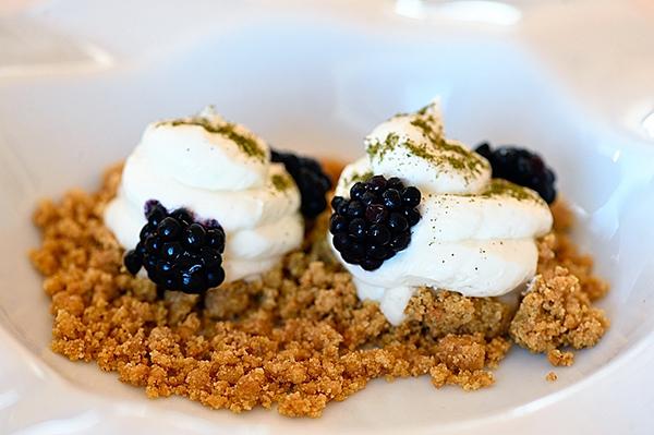 Chalet Galileo, cheesecake scomposta