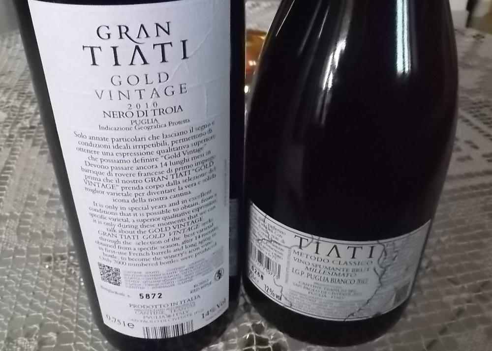 Controetichette Vini Cantine Teanum