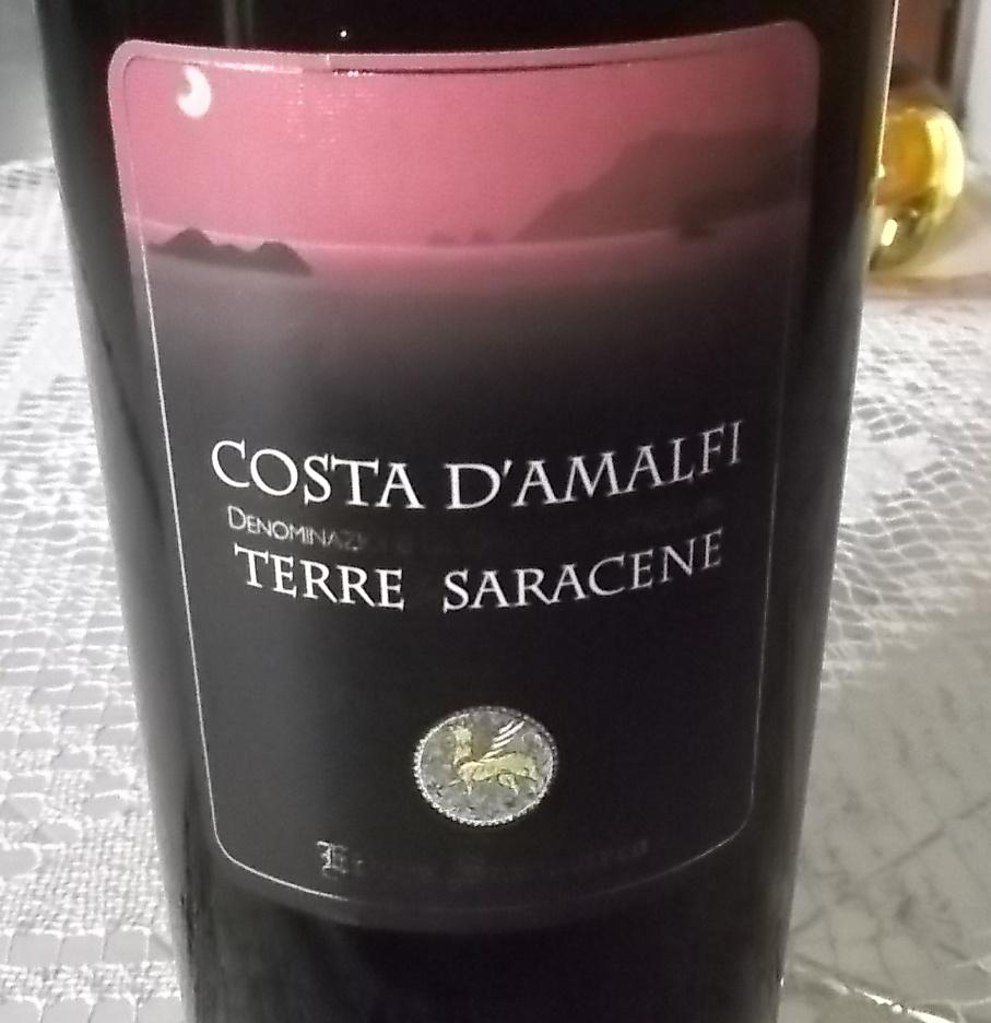 Costa d'Amalfi Terre Saracene Rosso Doc 2014 Ettore Sammarco