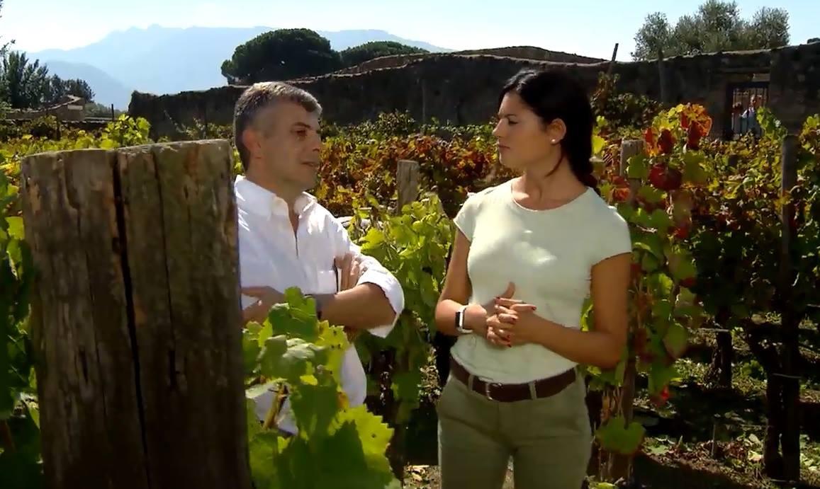 Daniela Ferolla con Piero Mastroberadino, Linea Verde