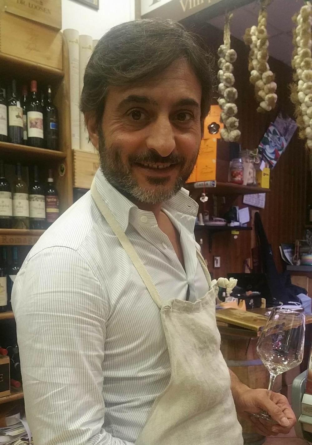 Enoteca Iorio, Pasquale Iorio