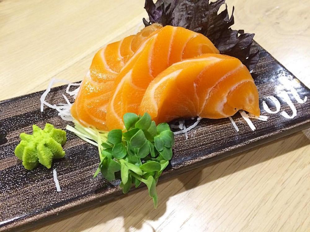 Sashimi di Salmone Loch Duart