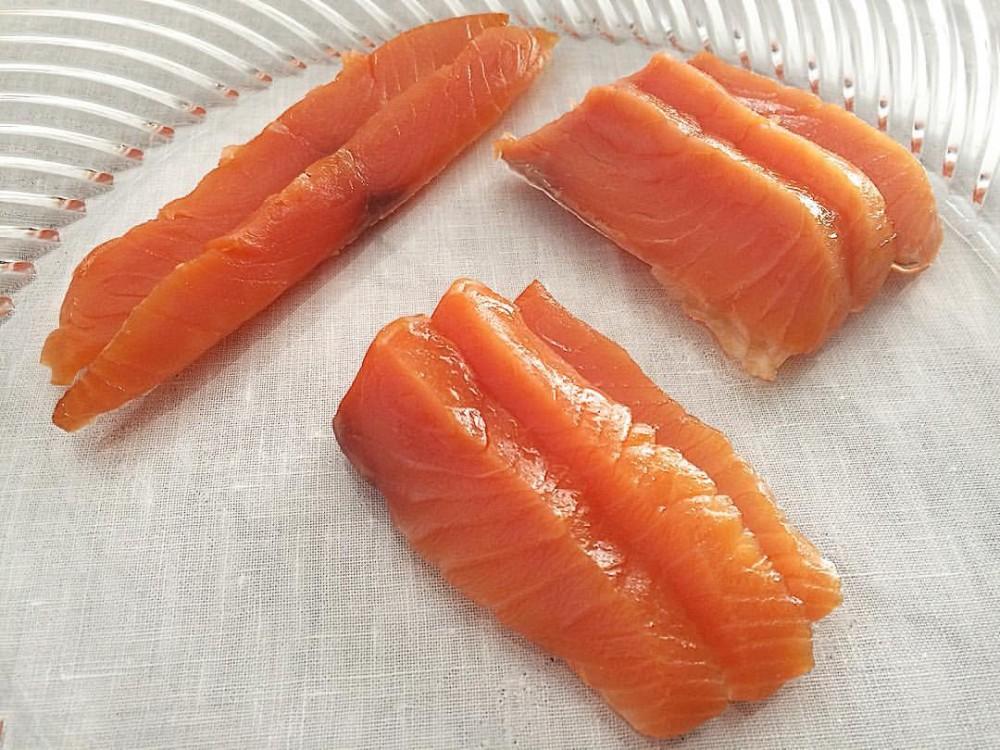 Le Tre Sezioni Del Salmone: Maguro; Chutoro; Otoro