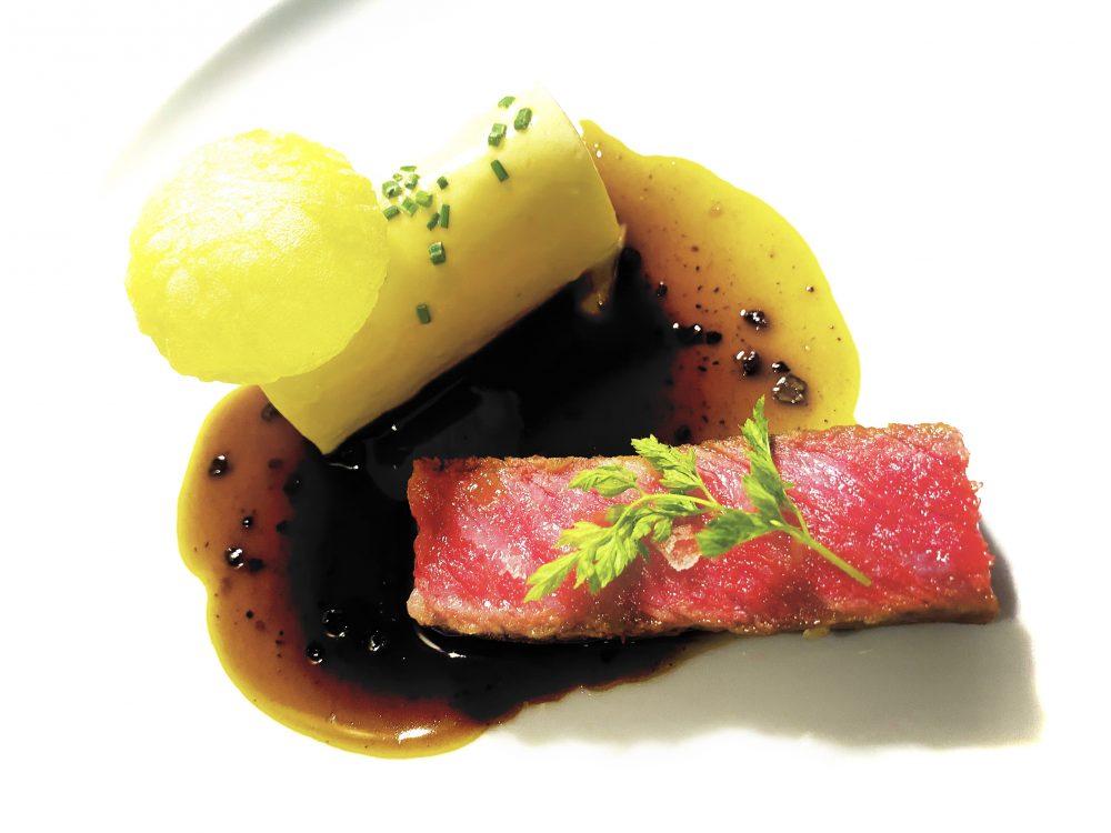 Grand Hotel Quisisana - Kagoshima Kobe Beef, au poivre con pomme Anna