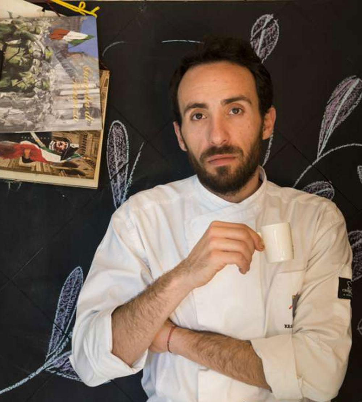 Francesco Sposito con l'amato caffe'