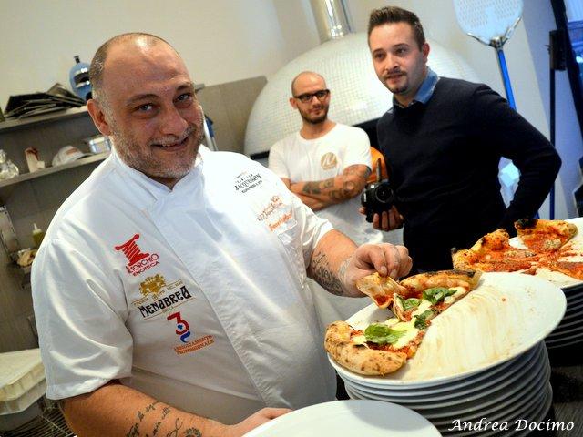 I Giganti Buoni della Pizza con Vitagliano e Martucci. Francesco Martucci con la sua Terra di Lavoro
