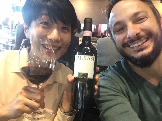 Antonio Capaldo e Judy Chan