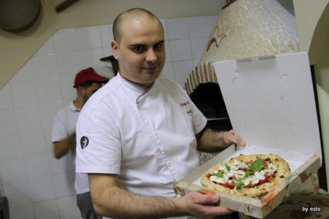 Il Segreto di PUlcinella Giuseppe Bove Pizza Wusterl margherita da asporto