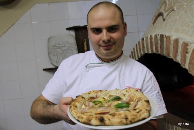 Il Segreto di PUlcinella Giuseppe Bove pizza Pulcinella