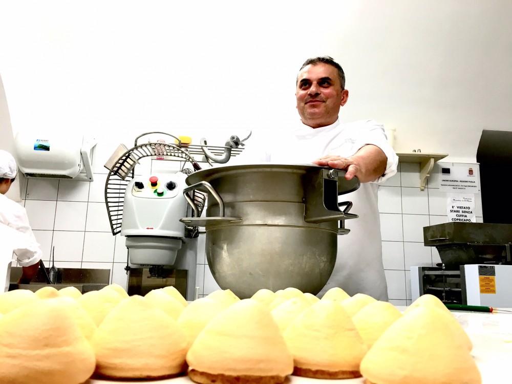 Il pastry chef Francesco Paolo Fiore