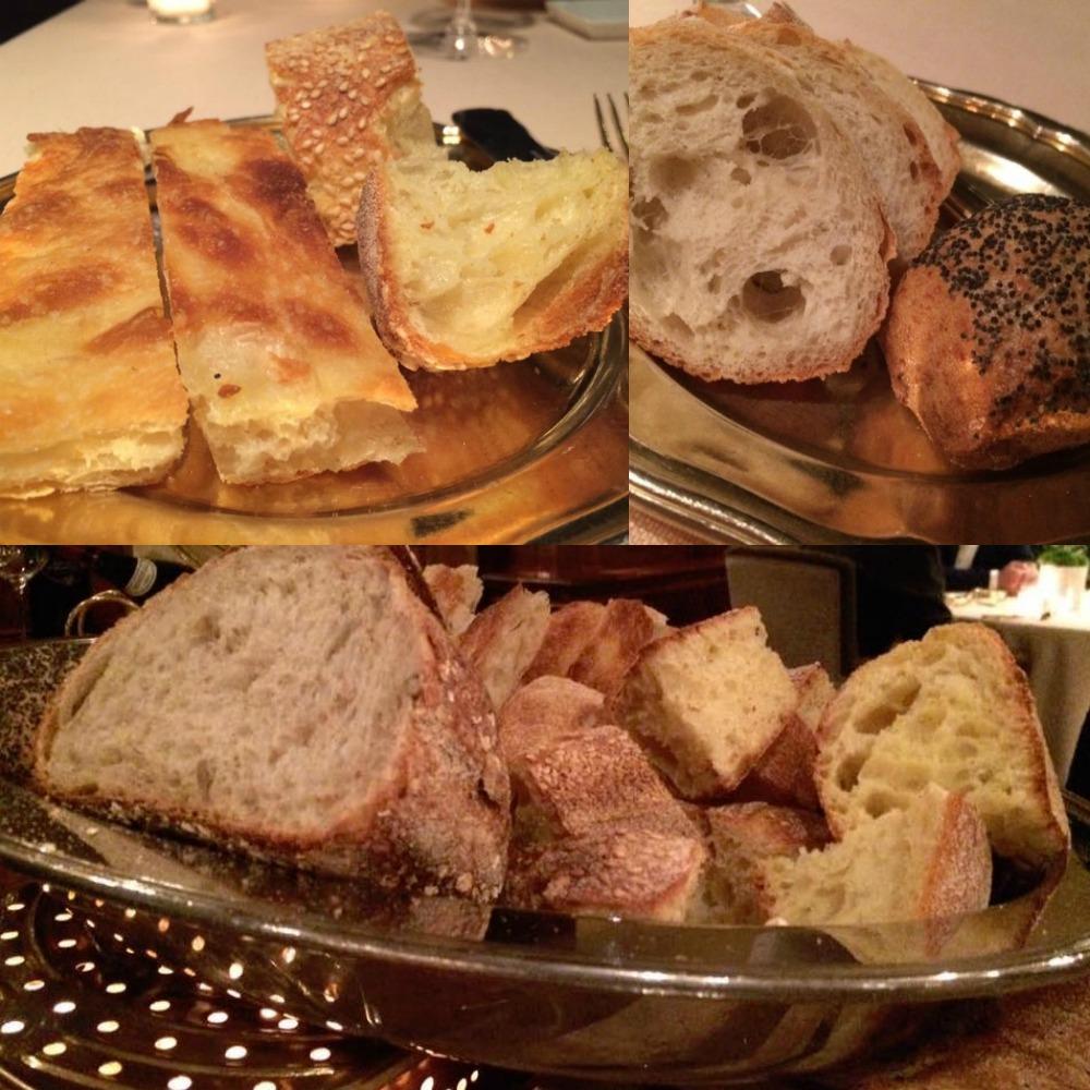 La Pergola, il pane
