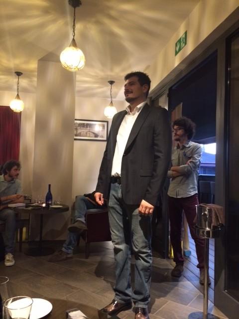 Leonardo Pinto patron di Show Rum