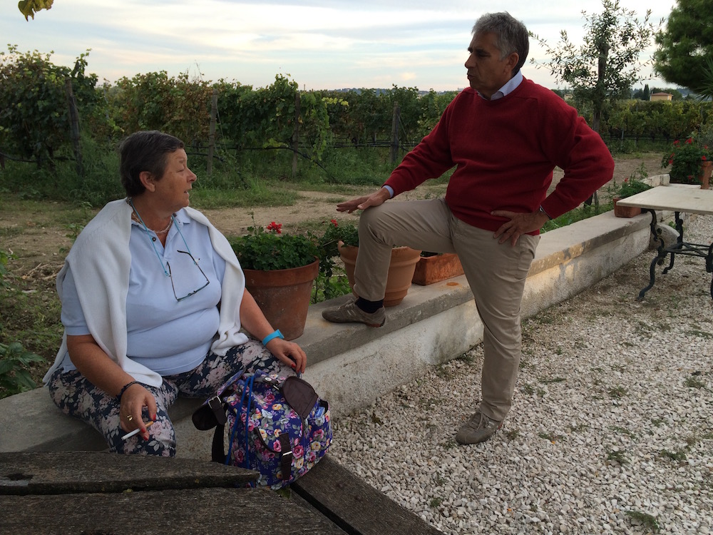 Lialiana e Roberto Perrone Capano