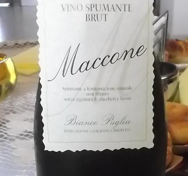 Maccone Vino Spumante Brut Puglia Igp Angiuli Donato