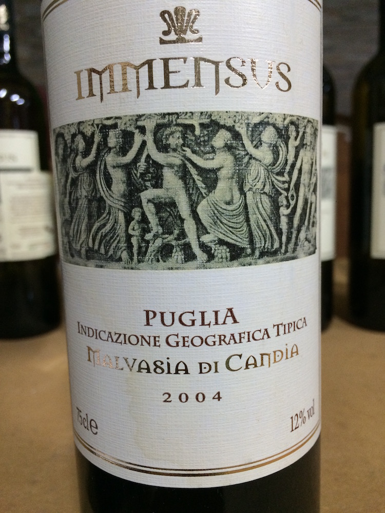 Malvasia Immensus 2004