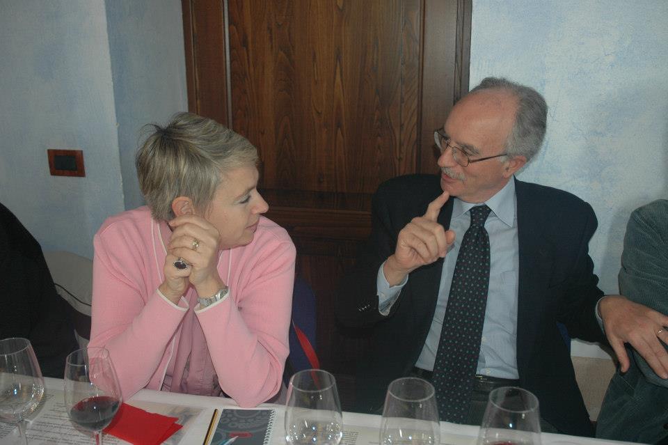 Manuela Piancastelli e Peppe Mancini nel 2004