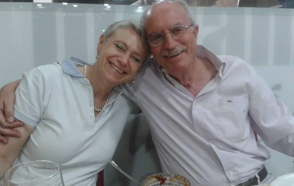 Manuela Piancastelli e Peppe Mancini