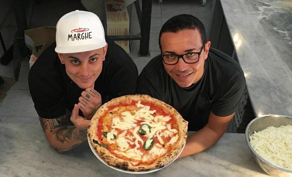 Matteo Mevio e Gino Sorbillo