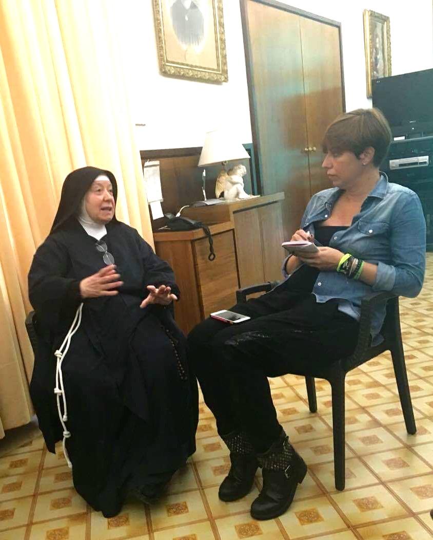 Nel monastero di Santa Chiara, suor Francesca e' la memoria storica
