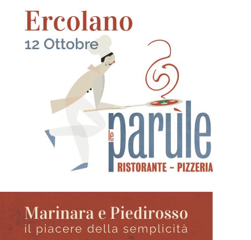 Pizza Marinara e Piedirosso