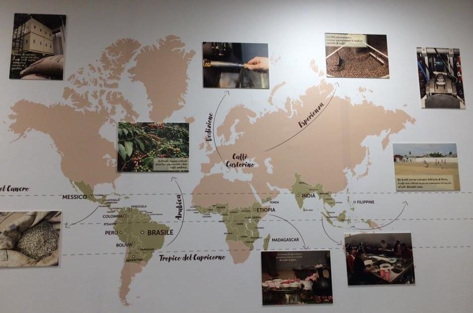 Punto e Virgola, la mappa dei caffe