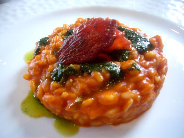 Risotto Carnaroli pomodoro e basilico dei Costardi Bros