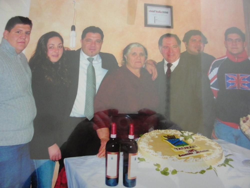 Salvatore Molettieri e la famiglia