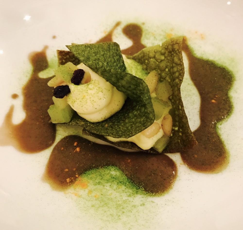 WinChef, Sfogliatella di broccoli, pecorino romano e bagna cauda all'aglio nero