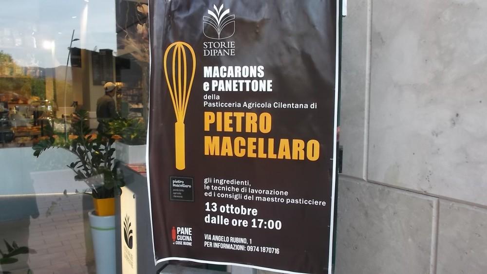 Storie di Pane, Locandina laboratorio di Pietro Macellaro