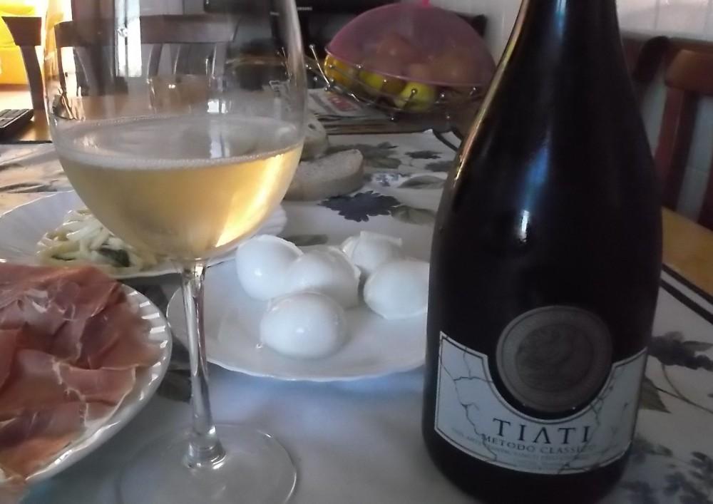 Tiati Spumante Metodo Classico Puglia Bianco 2012 Igp Cantine Teanum