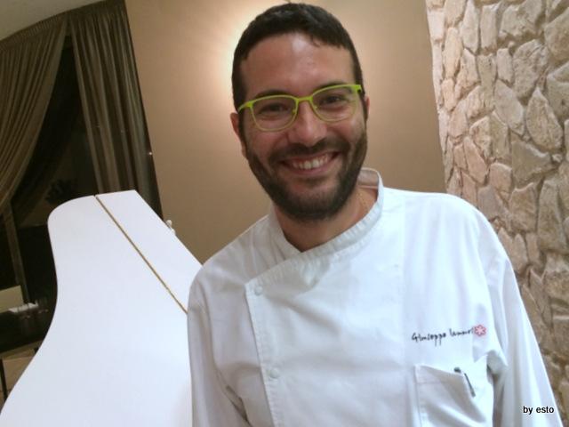 Un sorridente Giuseppe Iannotti