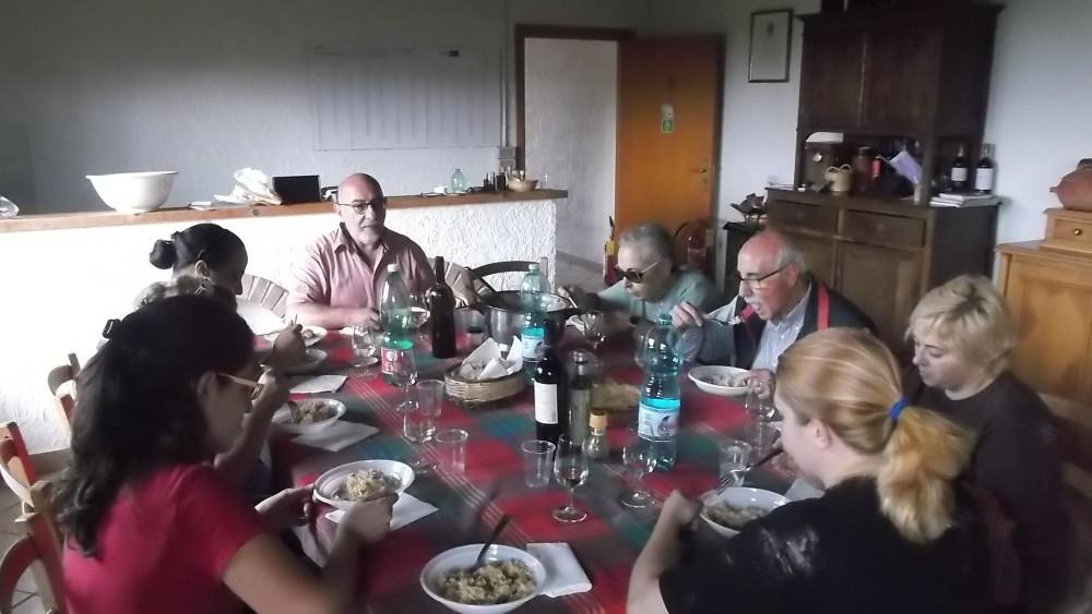 Viticoltori De Conciliis pranzo con Bruno De Conciliis
