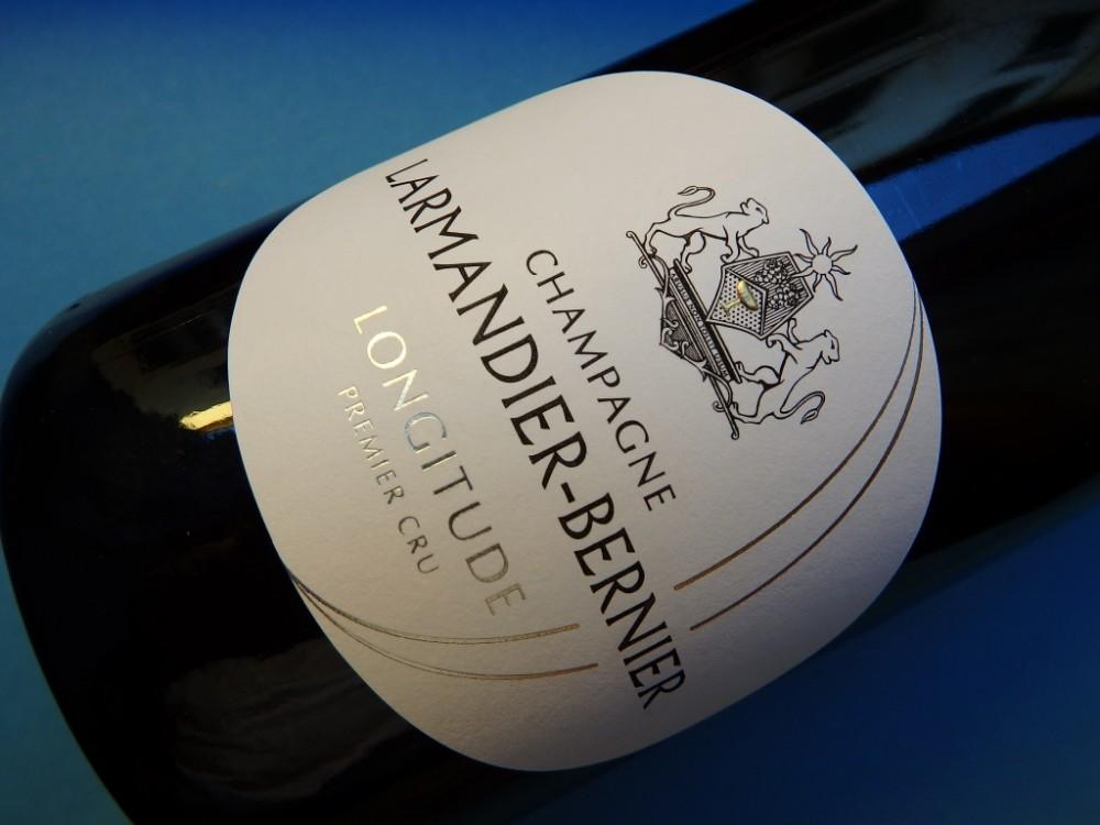 Champagne extra brut  Longitude, Larmandier-Bernier