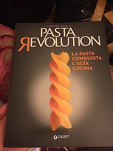 Pasta revolution, il libro